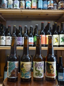 montpellier ecusson cave bière artisanale locale bio deli malt delimalt craftbeer craft beer condor king louie bush viper bower bird zoobrew animale